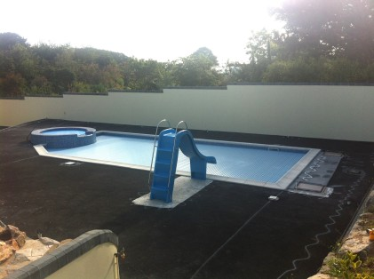 Pool Surround - Before