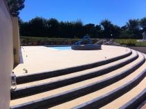 Steps & Pool Surround