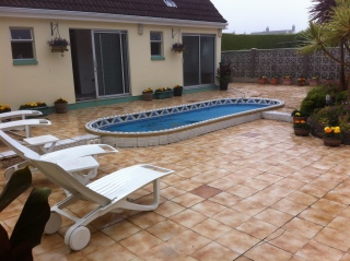 Patio - before